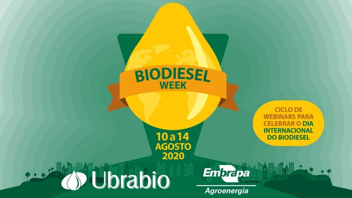 Biodiesel Week começa daqui a pouco, às 9h30