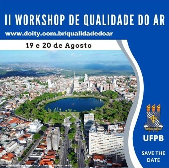 workshop de qualidade do ar