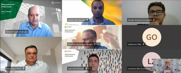No encontro online com a Petrobras, o presidente da Ubrabio, Juan Diego Ferrés, propôs um trabalho conjunto, em busca de soluções que serão positivas para o país