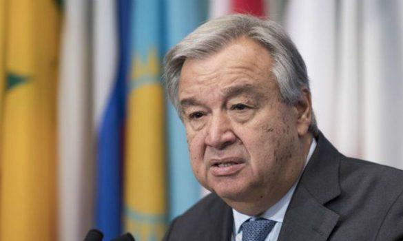 António Guterres pediu aos bancos de desenvolvimento que interrompam o apoio a projetos de combustíveis fósseis