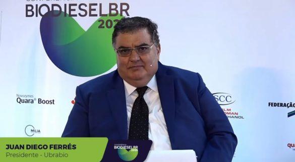 Presidente da Ubrabio, Juan Diego Ferrés, na Conferência BiodieselBR 2020