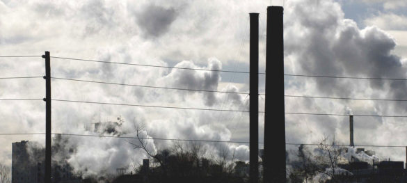 Desaceleração industrial não reduziu os níveis recordes de gases de efeito estufa