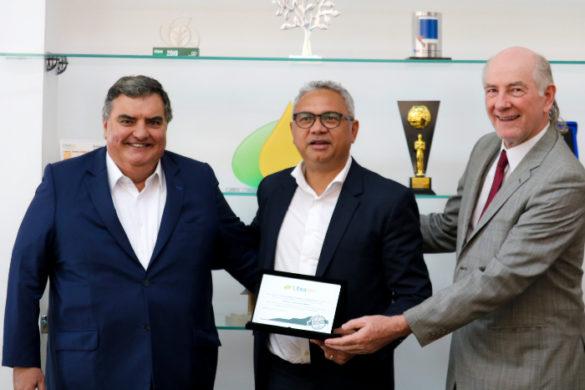 Juan Diego Ferrés, Aurélio Amaral e Donizete Tokarski