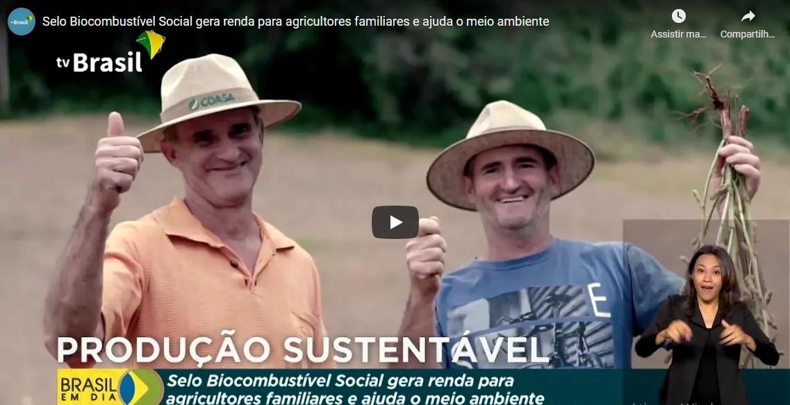 Clipping 1ª edição: Selo Biocombustível Social gera renda para agricultores familiares
