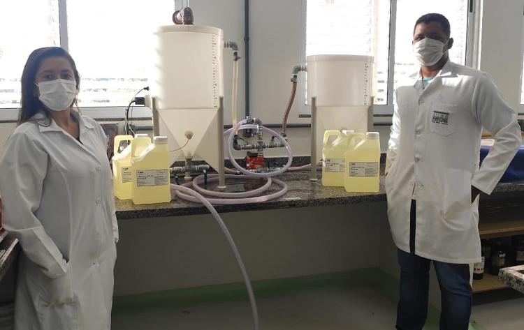 Basf e Universidade Federal do Tocantins usam óleo de fritura para produzir biodiesel