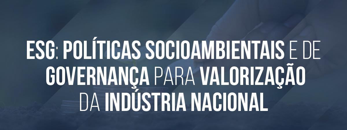 II Biodiesel Week webinar ESG: Políticas Socioambientais e de Governança para valorização da Indústria Nacional