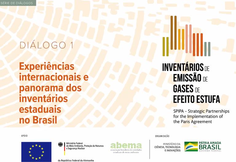 Ponte Inovação: MCTI promove diálogos sobre inventários de emissões de gases de efeito estufa com entidades estaduais de meio ambiente