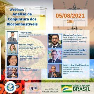 "Webinar ""Análise de Conjuntura dos Biocombustíveis 2020"""