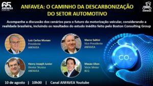 ANFAVEA: O Caminho da Descarbonização do Setor Automotivo