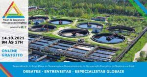 Fórum de Saneamento e Recuperação Energética será lançado no dia 14 de outubro
