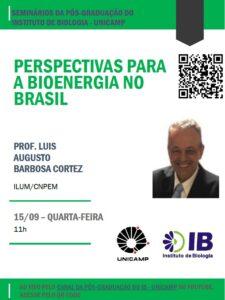 """Seminário """"Perspectiva para a Bioenergia no Brasil"""""""