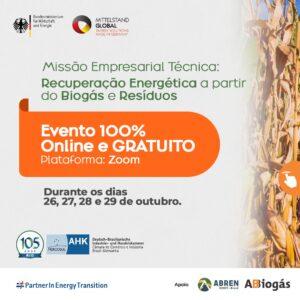 Missão Empresarial Técnica: Recuperação Energética a partir do Biogás e Resíduos