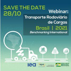 Webinar - Transporte Rodoviário de Cargas no Brasil: Avançando com eficiência